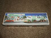 Hess Truck - Vintage - Toy - 18 Wheeler With Racer - Lights - 1992 - New - Rare