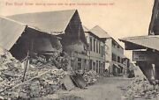 Jamaica - Kingston - Port Royal Street Showing Customs After The Great Earthquak