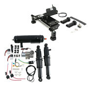 Electric Center Stand Air Ride Suspension Andair Tank Fit For Harley Touring 09-16