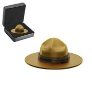 2020 Canada 1.5 Oz Classic Mountie Hat Shaped Silver Coin .9999 Fine W/box And