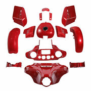Fairing Bodywork Kit Fit For Harley Street Glide Special 2019 Touring Wicked Red
