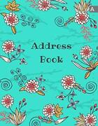 Address Book 8.5x11 Large Contact Notebook Organizer With By Emily Grace New