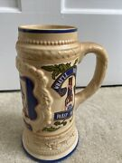 Limited Editionpabst Brewing Company Ceramic Beer Stein Made By Ceramarte Brazil
