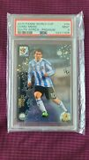Lionel Messi 2010 Panini World Cup South Africa Premium 44 Soccer Psa 9