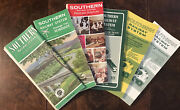 Southern Railway Timetables Lot 6 1959, 1965, 1968 And 1969 Passenger Public