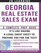 Georgia Real Estate Sales Exam 2014 Questions By Z R Learning Brand New