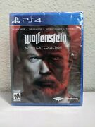 Wolfenstein Alt History Collection Sony Playstation 4, 2020 Ps4 New - Sealed