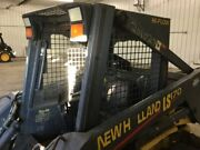 New Holland Ls170 - Shell Cab, P/n 86538361, Some Heat Exposure At Back
