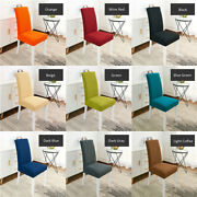 1 Pc Stretch Chair Seat Cover Dining Chair Slip Covers Wedding Party Home Decor