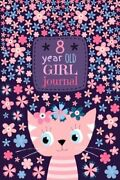 8 Year Old Girl Journal Cute Cat Diary For Kids To Keep By Lekotteto Books New