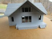 1 S  Scale Cape Cod House, Country House  3d Printed L@@k 1/64 164
