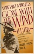 Margaret Mitchelland039s Gone With Wind Letters 1936-1949 By Richard Harwell Vg+