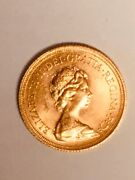 Beautiful 1974 Great Britain Gold Sovereign Elizabeth Ii Coin - Nice Circulated