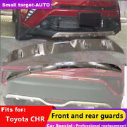 Fits For Chr Ch-r 2017-2021 Dynamic Bumper Board Guard Skid Bar Stainless Steel