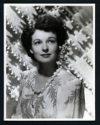 Great Oversize Ruth Hussey Portrait By C S Bull - 1940's Dblwt 10x13 In Ex Con
