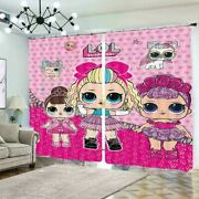 Colorful Bubble Doll 3d Curtain Blockout Photo Printing Curtains Drape Fabric