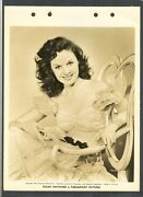 Georgeous + Sexy Young Susan Hayward - Exc Cond Dblwt Key Book Photo