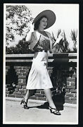 Lovely Ruth Hussey - Oversize Dblwt Fashion Photo By Willinger In N Mint Cond