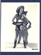 Sexy Marjorie Weaver In Cowgirl Outfit - Near Mint 1938 Photo - Musical Mus