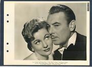 Joan Fontaine + George Brent - Sophisticated Couple - N Mint Dblwt Key Book 1945