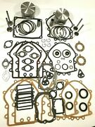 .020 Engine Rebuild Kit Fits Opposed Twin Cylinder Briggs And Stratton 16hp-18hp