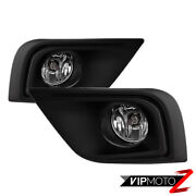 Factory Style Driving Fog Lights Lamps Pair For 2015-2016 Nissan Murano Sl Sv