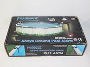 New Poolguard Pgrm-ag Above Ground Swimming Pool Water Alarm Safety System + Box