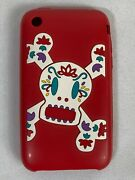 Paul Frank Case For Iphone 3g And 3gs Rubber/silicone Cover Pad Skin Red Rare