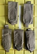 Msa Paraclete Large Flash Bang Pouch Coyote Brown Molle Nos Lot Of 5