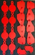 Chevy Ls Engine Covers / Block Off Kit Red
