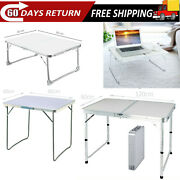 Portable Folding Laptop Notebook Table Desk Picnic Camping Outdoor Fishing Bbq