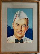 Wesley De Lappe Standard Oil Orig. Painting Illustration And Magazine Cover D.1940