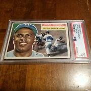 1956 Topps Jackie Robinson Psa 3 Outstanding Best Looking Psa 3. Centered