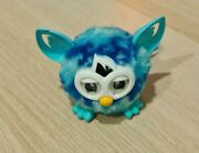 Working 2013 Mini Furby Boom Furbling Interactive Talking Pet Toy   Blue And Teal