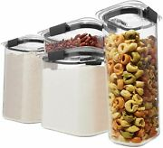 Rubbermaid Brilliance Pantry Organization And Food Storage Containers With Set
