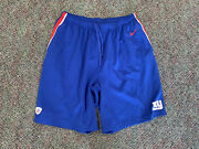 Nike Nfl Equipment Training Authentic New York Giants Shorts On Field Blue 3xl