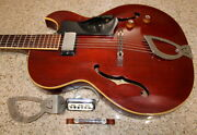 Vintage Guild Starfire I Electric Guitar Cherry 1961
