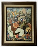 Francisco Rodriguez Oandntildeate. Dance Of The Deer Of Cocacho. Mexico.
