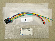 96 - 99 Gmc Yukon Heater Climate Fan Speed Control Connector Wire Harness New