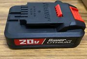 20v Hypermax Lithium Ion 1.5 Ah Compact Battery For Bauer Cordless Tools 1701c-b