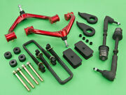 2011+gmc Chevy 2500hd 4wd Full Lift Front 3+rear 2.5+control Arm+tie Rod+diff