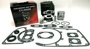 Cylinder And Piston With Gasket Set Seals Fits Stihl 041 041av 041 Farm Bossnew