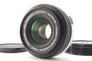 [ab- Exc] Olympus Om-system Zuiko Auto-s 40mm F/2 Pancake Lens From Japan 6885