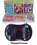 Leapfrog Leapster 2 Star Wars The Clone Wars Edition + 7 Games And Case. Tested