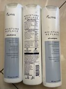 Kms Moisture Replace Shampoo 12 Oz Each. Set Of 3 Bottles. New. Rare. See Detail