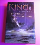 Stephen King Song Of Susannah, The Dark Tower 6 Illustrated Grant 1st Edition