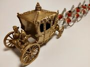 Rare Early Lesney Large Gold Coronation Coach, King And Queen Version 1 Of 200
