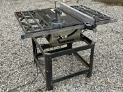 Vintage Craftsman Table Saw 1950 Era Tested Working With Side Mounts + 2 Guides
