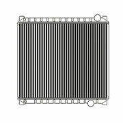 1992 1993 Ford F700 F800 F850 Series Radiator - Copper Brass