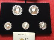 2017 Legacy Of The Penny Fine Silver Coin Set 99.99 Pure